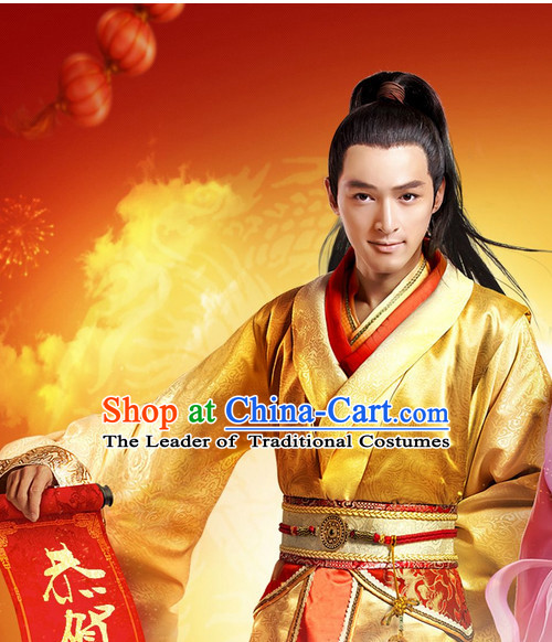 Chinese Ancient Knight Costume Garment Dress Costumes Japanese Korean Asian King Clothing Costume Dress Adults Cosplay for Men