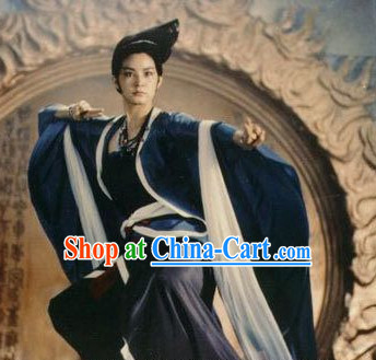 Chinese Traditional Flying Angel Costume Complete Set and Wig