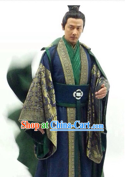 Chinese Shifu Hanfu Clothing for Men