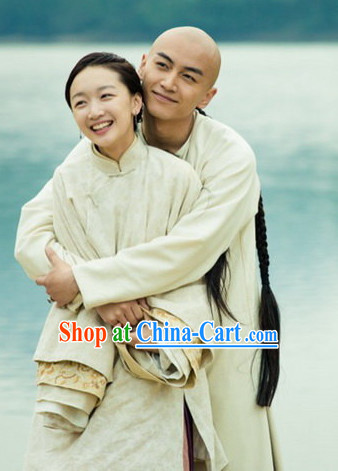 Qing Dynasty Traditional Chinese Lover Robes