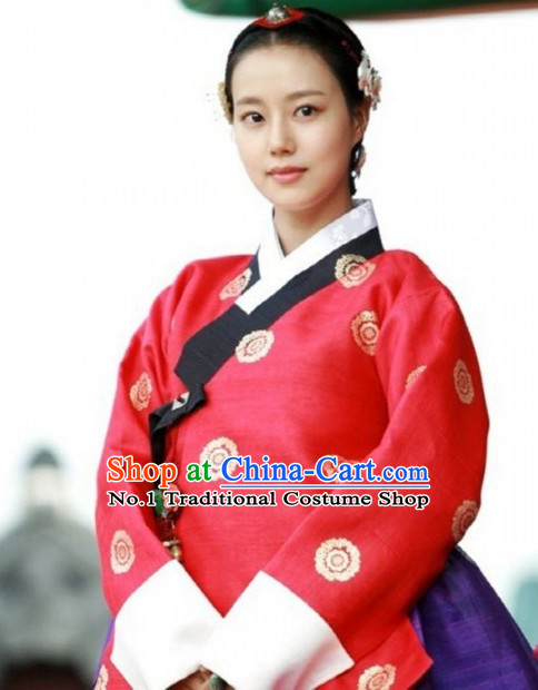 Traditional Korean Princess Costumes for Women