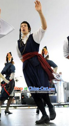 Traditional Greek Costumes Complete Set for Boys