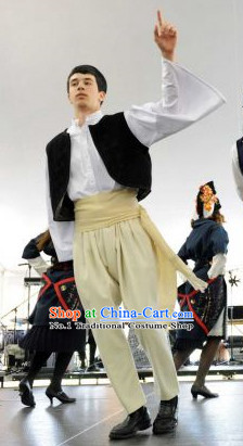Traditional Greek Clothing Complete Set for Boys