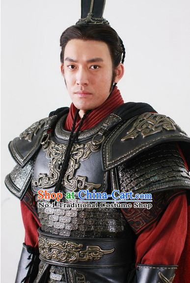 Chinese General Armor TV Play Costumes