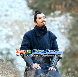 Chinese Black Swordsman TV Play Costumes