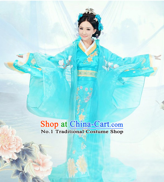 China Classical Dance Costume and Hair Accessories for Women or Girls