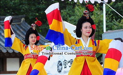Korean Traditional Dance Costumes for Women