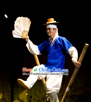 Korean Traditional Dance Costumes for Men