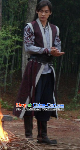 Chinese Gu Jian Qi Tan Lengend of the Ancient Sword Cosplay Costumes and Headwear