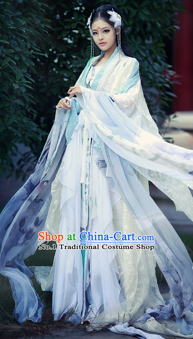 Chinese Traditional Princess Japan Clothes