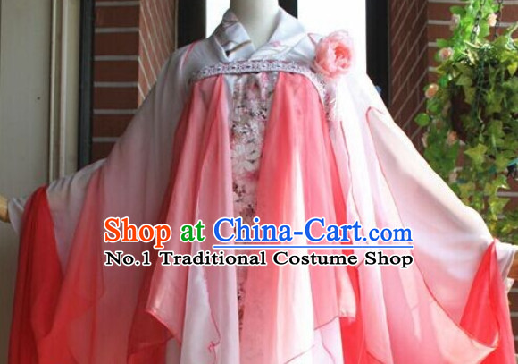 Chinese Classical Wide Sleeves Dance Costumes