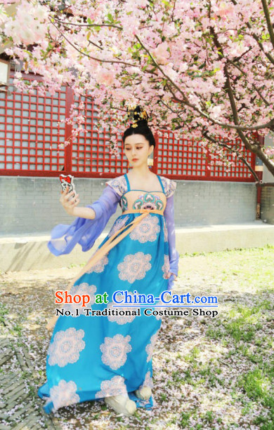 Traditional Asian Clothing Tang Imperial Palace Wu Zetian Ruqun Clothes