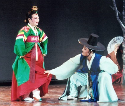 Korean Traditional Stage Performance Costumes for Men and Women