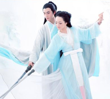 Chinese Ancient Lovers Costumes 2 Sets