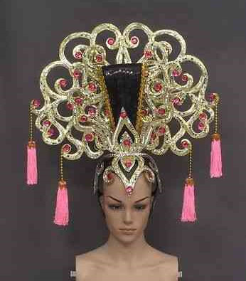 China Empress Hat Hair Vines Hair Clamps Hair Jewels Hair Bows Hair Sticks Hairclips