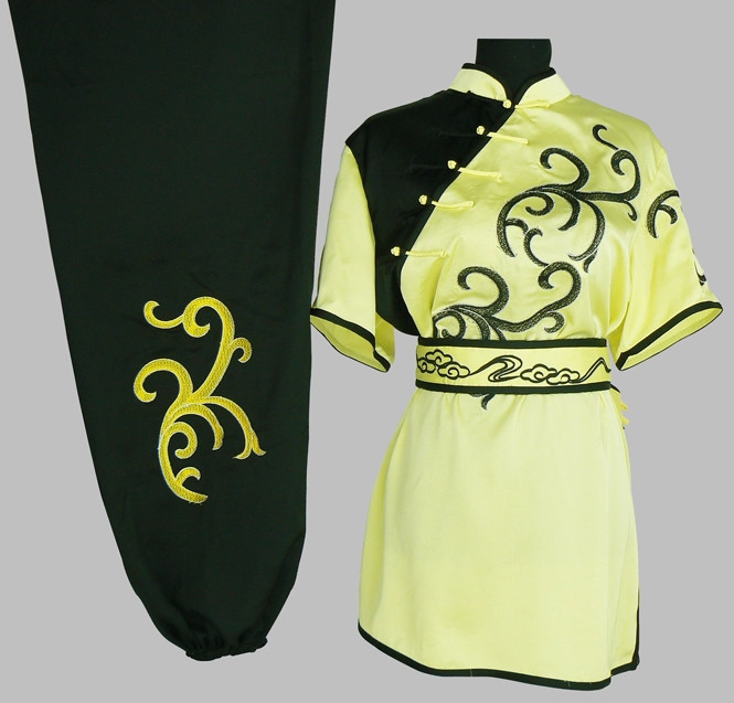Chinese Classical Short Sleeves Kung Fu Uniforms