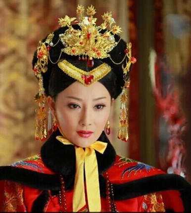 Supreme Chinese Empress Hat and Phoenix Jewellery Accessories Wedding Headpieces