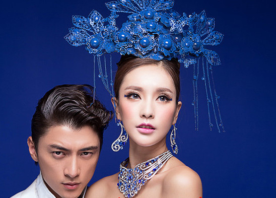 Chinese wedding tiaras bridal hair accessories bridal hair accessory