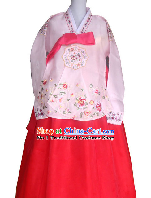 Traditional Ceremony Dress Custom Made Dangui Korean Royal Costume for Women