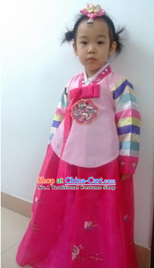 Traditional Korean Clothing Custom Made Girls Hanbok