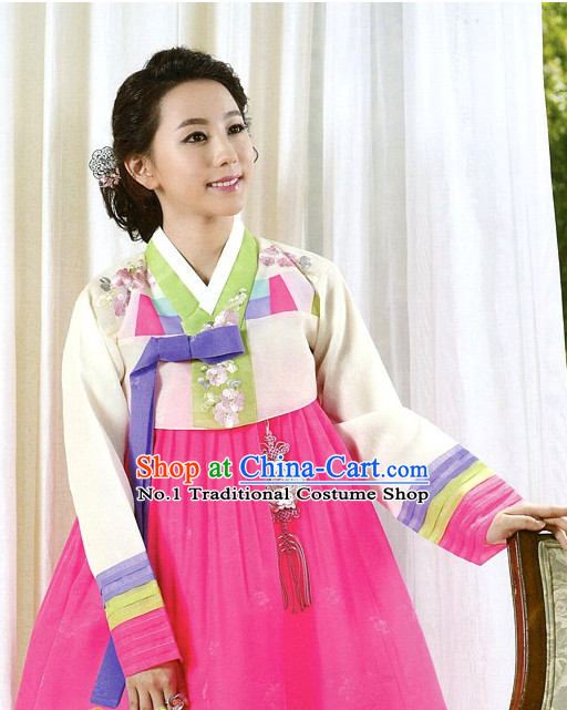 Top Korean Clothing Asia Fashion Korean Hanbok National Costumes for Women