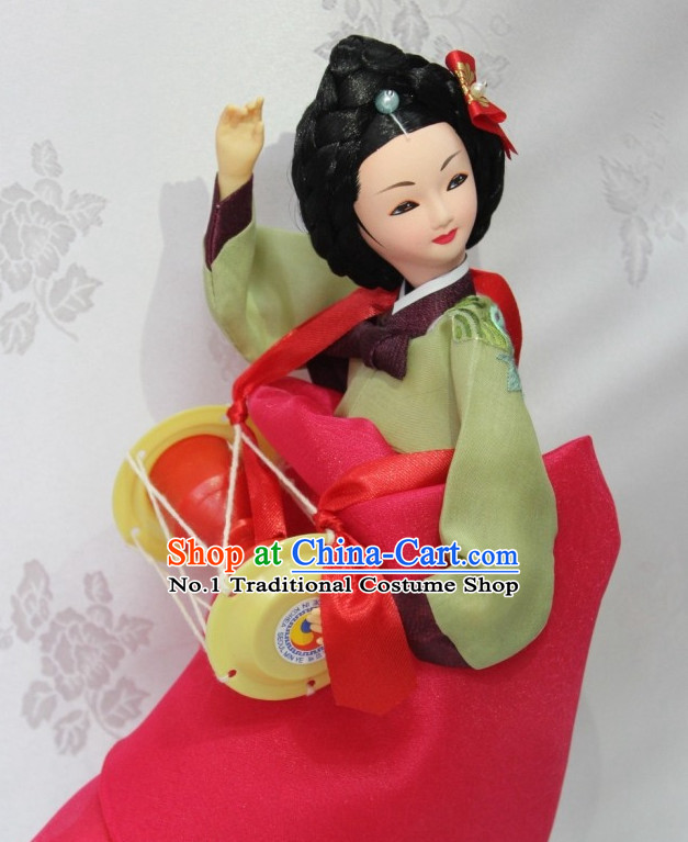 The Great Jang Geum Handmade Silk Figurine