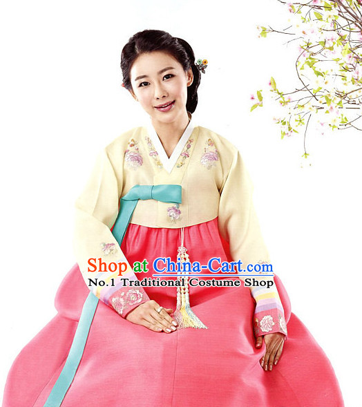 Korean Emperor Costumes and Hat for Men
