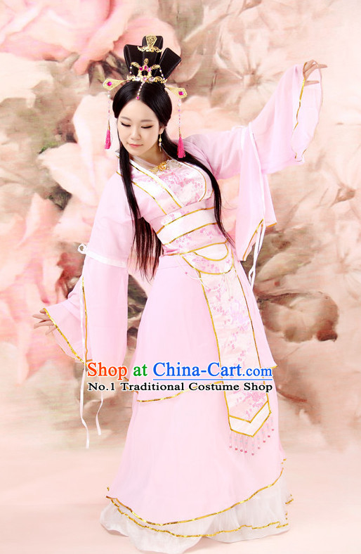 Custom Made Chinese Classical Fairy Costumes Team Dance Costumes