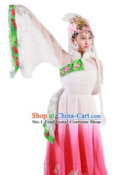 Custom Made Chinese Classical Group Dance Costumes Team Dance Costumes for Women