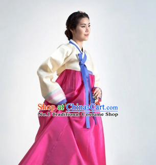 Top South Korean Ladies Hanbok Clothing Complete Set