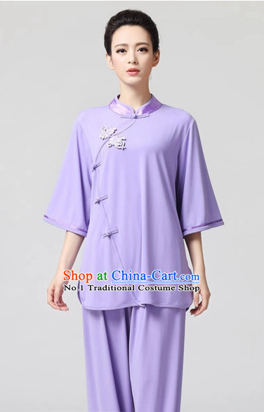 Top Asian China Tai Chi Short Sleeves Uniform
