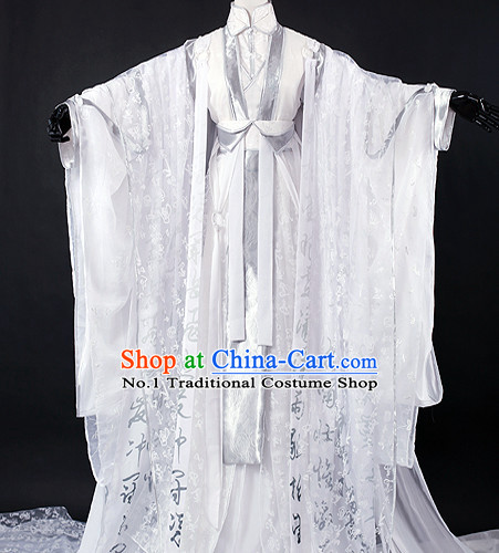 Chinese Prince Cosplay Male Hanfu Cosplay Halloween Costumes Carnival Costumes