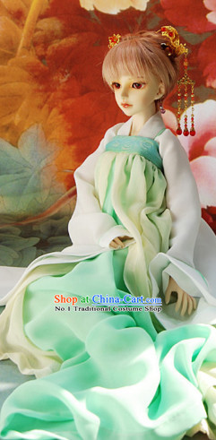 Chinese Tang Outfit Hanfu Clothing Asia fashion China Civilization Complete Set for Women