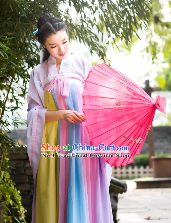 3f64c987b23 Asian Fashion Oriental Dresses Chinese Hanfu Plus Size Clothes Complete Set