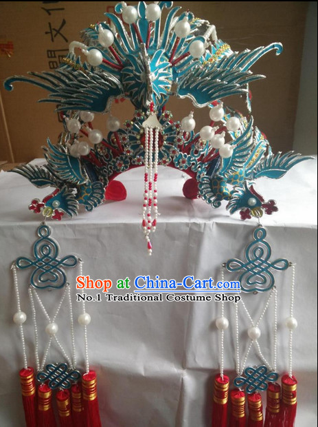 Oriental China Stage Performance Princess Phoenix Hat Crown