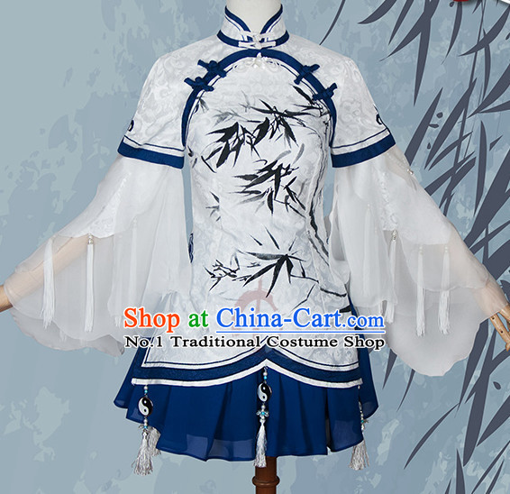 Asian Chinese Fashion Mandarin Collar Princess Halloween Costumes Cosplay Costumes Plus Size