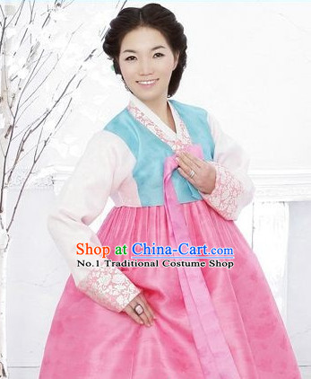 Traditional Korean Custom Made Hanbok Clothes Complete Set for Mother