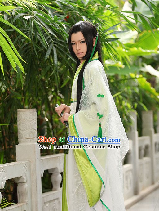 Asia Fashion Ancient China Culture Chinese Halloween Costumes and Hair Accessories