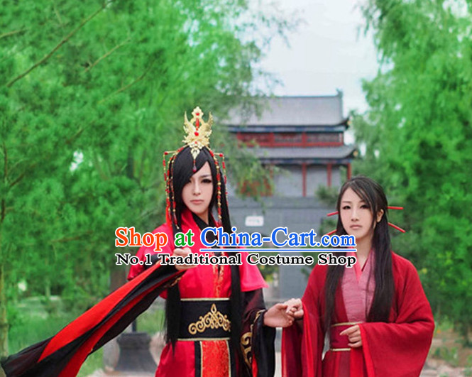 Asia Fashion Ancient China Culture Chinese Hanfu Wedding Dress