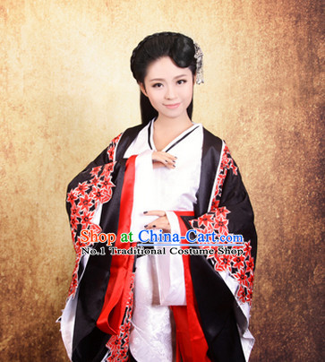 Chinese Han Dynasty Female Long Tail Empress Hanfu Dress Complete Set China Shopping online