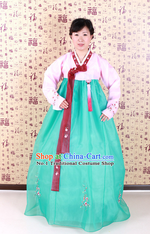 Korean Traditional Dancing Costumes for Women