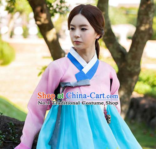 0fc113ab65c Korean Traditional Clothing Plus Size Dress Fashion Clothes Complete Set  for Ladies