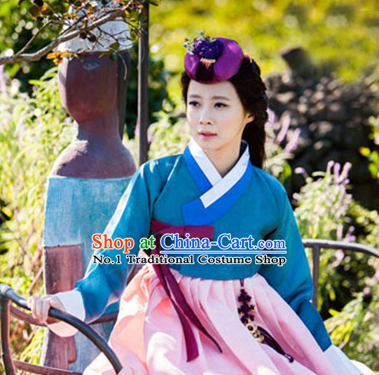 Traditional Korean National Costume Complete Set for Women