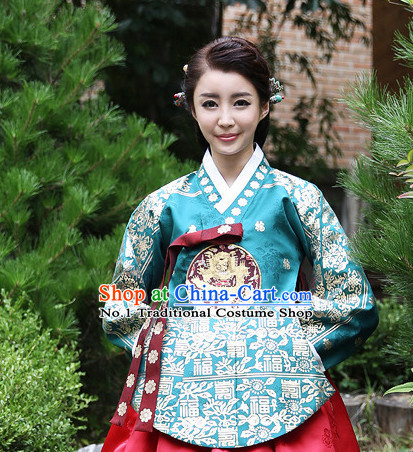 Korean Princess National Costumes Traditional Costumes online Shopping