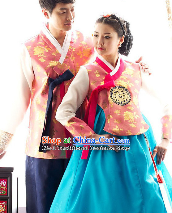 Korean Couple National Costumes Traditional Costumes online Shopping