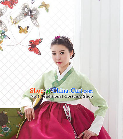 Korean Women National Costumes Traditional Costumes Hanbok online Shopping