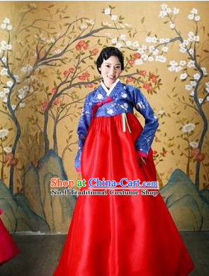 Korean Ladies National Costumes Traditional Costumes Hanbok Korea Dress online Shopping