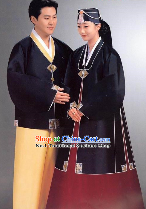 Korean Mand Woman National Costumes Traditional Costumes Hanbok Korea Dress online Shopping