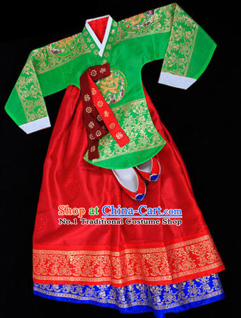 Traditional Korean Royal Clothes Complete Set for Women