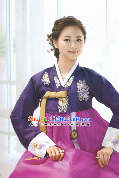 Korean Mother Fashion online Apparel Hanbok Costumes Clothing Complete Set